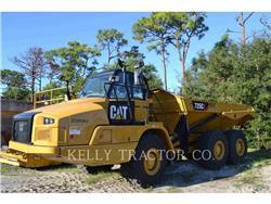 Caterpillar 725C2, Tombereau articulé, Équipement De Construction