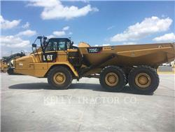 Caterpillar 725C2, Knik dumptrucks, Bouw