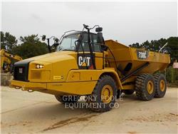 Caterpillar 730C, Knik dumptrucks, Bouw