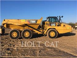 Caterpillar 730C, Articulated Dump Trucks (ADTs), Construction