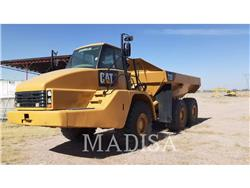 Caterpillar 735, Transportoare articulate, Constructii