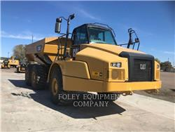 Caterpillar 735C, Transportoare articulate, Constructii
