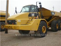 Caterpillar 740, Transportoare articulate, Constructii
