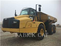 Caterpillar 740B, Transportoare articulate, Constructii