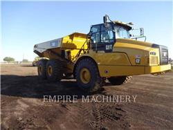 Caterpillar 740GC, Knik dumptrucks, Bouw