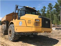 Caterpillar 745, Articulated Dump Trucks (ADTs), Construction