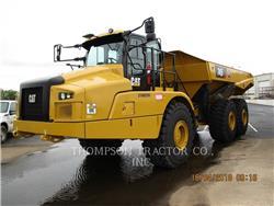 Caterpillar 745, Tombereau articulé, Équipement De Construction