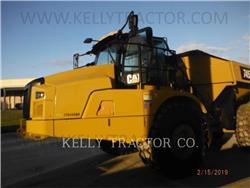 Caterpillar 745-04, Tombereau articulé, Équipement De Construction