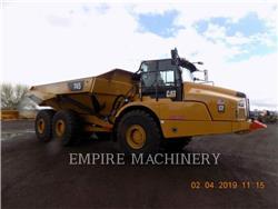 Caterpillar 745-04, Transportoare articulate, Constructii
