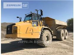 Caterpillar 745C, Transportoare articulate, Constructii