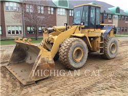 Caterpillar 950FII, Incarcator pe pneuri, Constructii