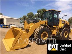 Caterpillar 950GC, Incarcator pe pneuri, Constructii