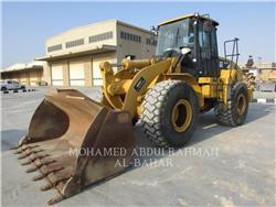 Caterpillar 950H, Cargadoras sobre ruedas, Construcción