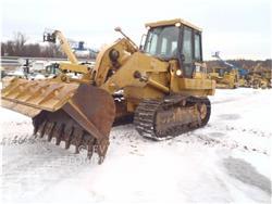 Caterpillar 963C, track loaders, Construction