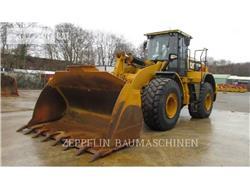 Caterpillar 972MXE, Cargadoras sobre ruedas, Construcción