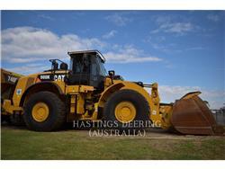 Caterpillar 980K, Wielladers, Bouw