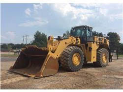 Caterpillar 988K, Incarcator pe pneuri, Constructii