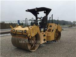 Caterpillar CB-534D, Cilindri compactori dubli, Constructii