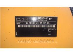 Caterpillar CB-534D, Twin drum rollers, Construction