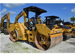 Caterpillar CB 54 XW, Twin drum rollers, Construction