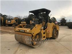 Caterpillar CB-64, Twin drum rollers, Construction