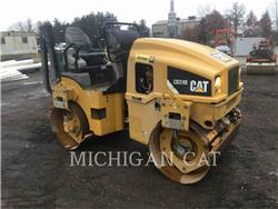 Caterpillar CB24B, Single drum rollers, Construction