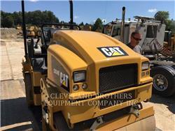 Caterpillar CB34B, Cilindros Compactadores tandem, Equipamentos Construção