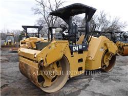 Caterpillar CB54, Walce dwubębnowe, Sprzęt budowlany