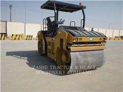 Caterpillar CB54B、タンデムローラ、建設