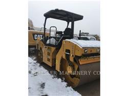 Caterpillar CB54B, Walce dwubębnowe, Sprzęt budowlany