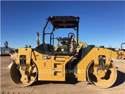 Caterpillar CB54B C, Twin drum rollers, Construction