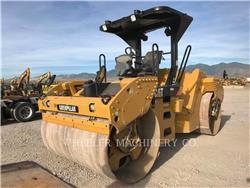 Caterpillar CB64 R9, Cilindros Compactadores tandem, Equipamentos Construção