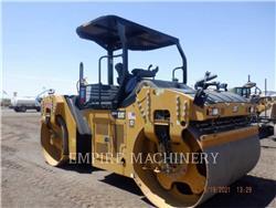 Caterpillar CB66B, Cilindri compactori dubli, Constructii