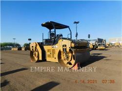 Caterpillar CB66B, Twin drum rollers, Construction