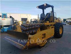 Caterpillar CP 56, Single drum rollers, Construction
