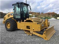 Caterpillar CP56B、アスファルトフィニッシャ、建設