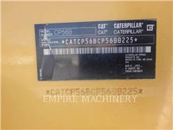 Caterpillar CP56B, Single drum rollers, Construction