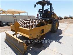Caterpillar CP56B、振動ローラ、建設