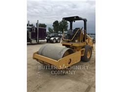 Caterpillar CS44, Asphalt pavers, Construction