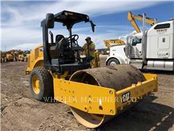 Caterpillar CS44B, Rouleaux monocylindre, Équipement De Construction