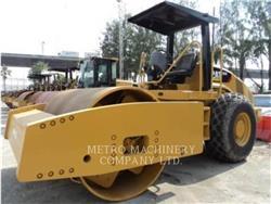Caterpillar CS76, Compactoare monocilindrice, Constructii