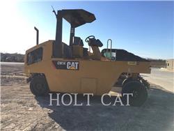 Caterpillar CW14, Single drum rollers, Construction