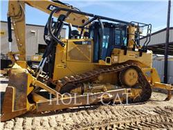 Caterpillar D6T、推土机、建筑设备