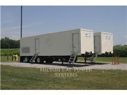 Caterpillar G3512, mobile generator sets, Construction