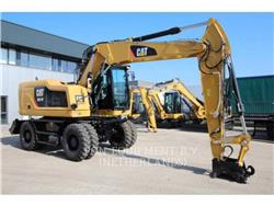 Caterpillar M314F, wheel excavator, Construction