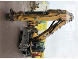 Caterpillar M318DMH, escavadeiras de rodas, Equipamentos Construção
