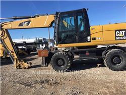 Caterpillar M322D, Crawler Excavators, Construction