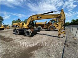 Caterpillar M322D, wheel excavator, Construction