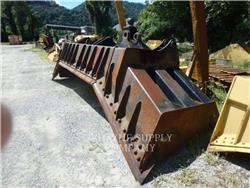 Caterpillar WORK TOOLS (SERIALIZED) D8 U COAL BLADE, bladen, Bouw