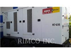 Caterpillar XQ-230, mobile generator sets, Construction